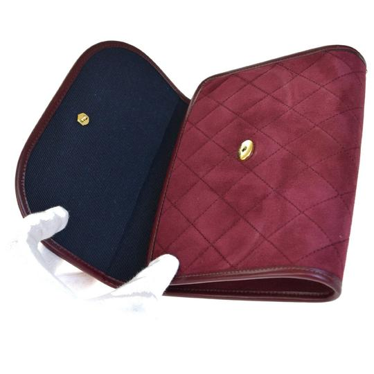 Chanel Made In France Bordeaux Clutch Image 9