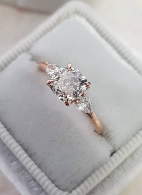 Rose Gold Diamond 1.30 Carat Diamond Engagement Ring Rose Gold Diamond 1.30 Carat Diamond Engagement Ring Image 1