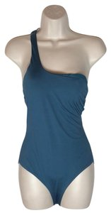 Red Carter one shoulder one piece
