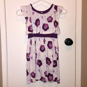 Nordstrom Floral Print Ruffled Dress Size 6