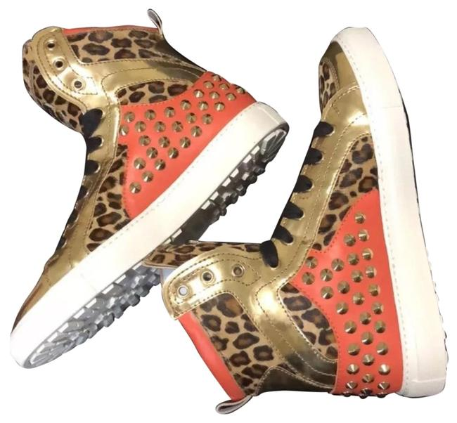 Dsquared2 Pony Leopard Sneakers Size US 10 Regular (M, B) Dsquared2 Pony Leopard Sneakers Size US 10 Regular (M, B) Image 1