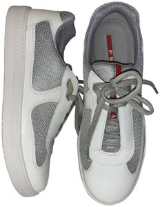 Prada America's Cup Mens White Athletic