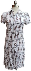 Carolina Herrera short dress Patterned #bornfree #shirtdress #summerdress on Tradesy