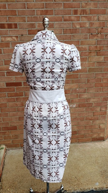 Carolina Herrera short dress Patterned #bornfree #shirtdress #summerdress on Tradesy Image 3