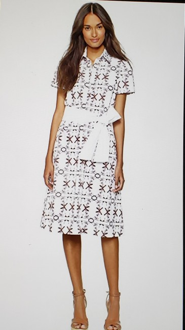 Carolina Herrera short dress Patterned #bornfree #shirtdress #summerdress on Tradesy Image 7