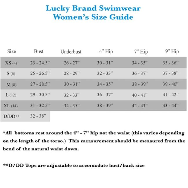Lucky Brand Lucky Brand Doheny Beach One-Piece Swimsuit Image 5