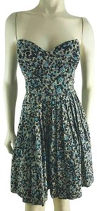 Tracy Reese short dress Blue on Tradesy