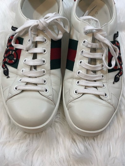 Gucci White Athletic Image 4
