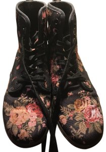 Dr. Martens Pink and black Boots