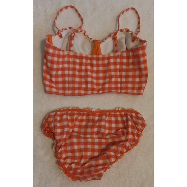 SeaFolly gingham longline bustier Image 3