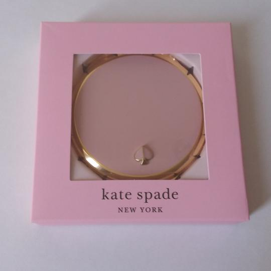 kate spade Round Gold Lenox Compact Image 1