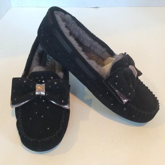 UGG Australia New With Tags Sale Black Flats Image 1