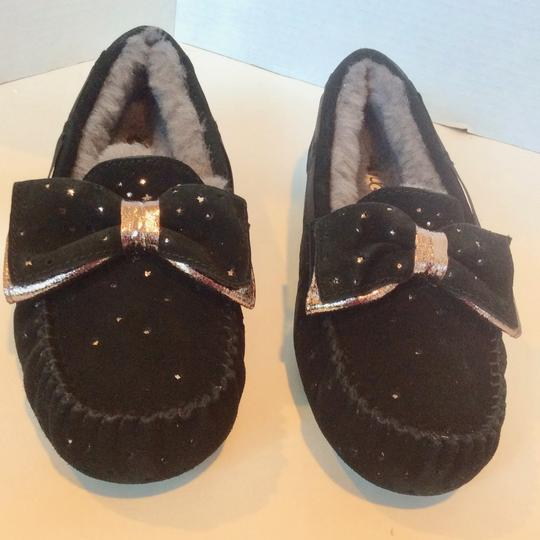 UGG Australia New With Tags Sale Black Flats Image 3