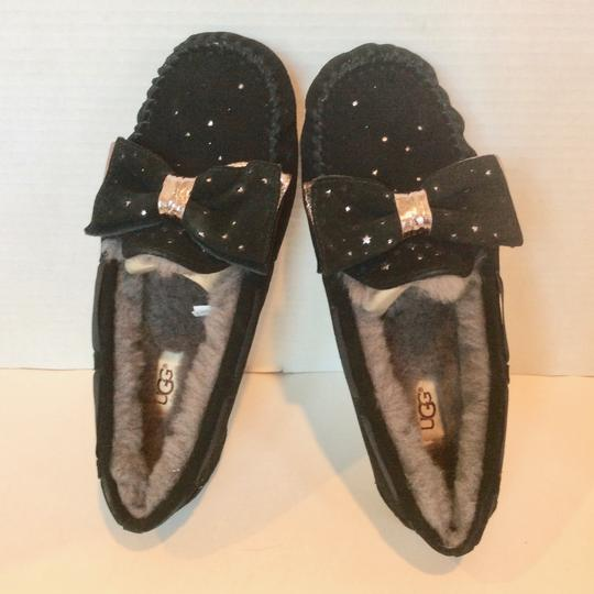 UGG Australia New With Tags Sale Black Flats Image 4