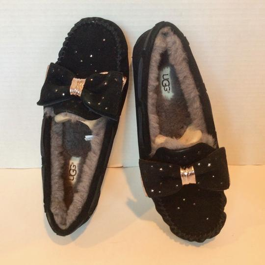 UGG Australia New With Tags Sale Black Flats Image 8