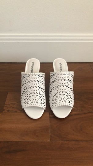 Jeffrey Campbell White Sandals Image 1