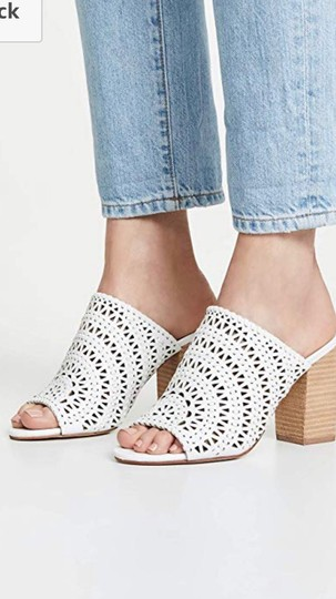 Jeffrey Campbell White Sandals Image 5