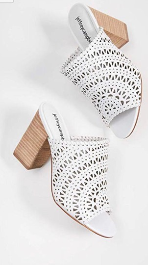 Jeffrey Campbell White Sandals Image 6