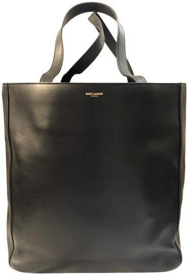 Preload https://img-static.tradesy.com/item/25723952/saint-laurent-black-leather-tote-0-1-540-540.jpg