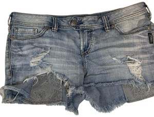 Silver Jeans Co. Denim Shorts-Distressed