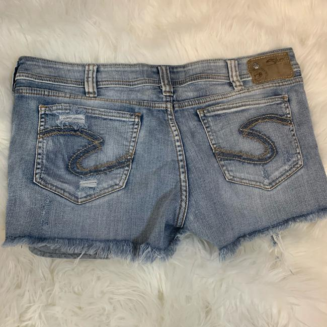 Silver Jeans Co. Denim Shorts-Distressed Image 1