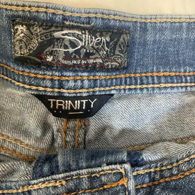 Silver Jeans Co. Denim Shorts-Distressed Image 4