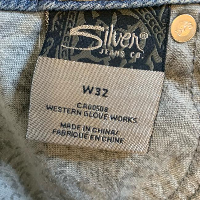 Silver Jeans Co. Denim Shorts-Distressed Image 5