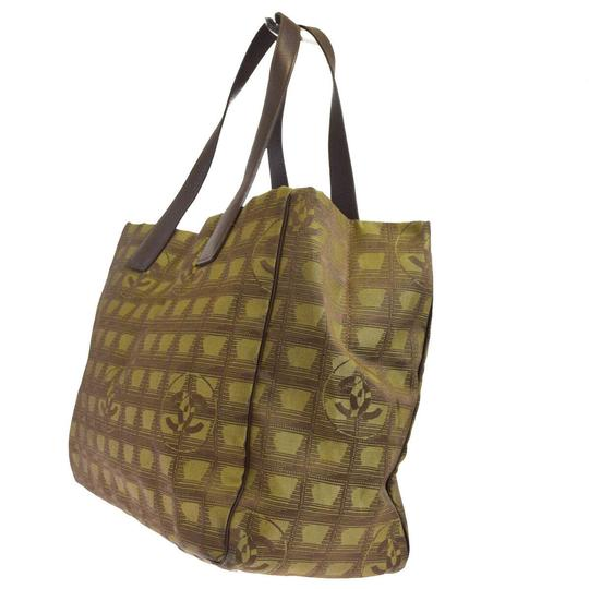 Chanel Made In Italy Tote in Khaki Image 1