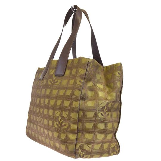 Chanel Made In Italy Tote in Khaki Image 2