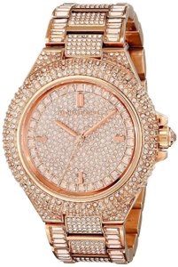 Michael Kors Camille Stainless Pave Crystal Glitz MK5862