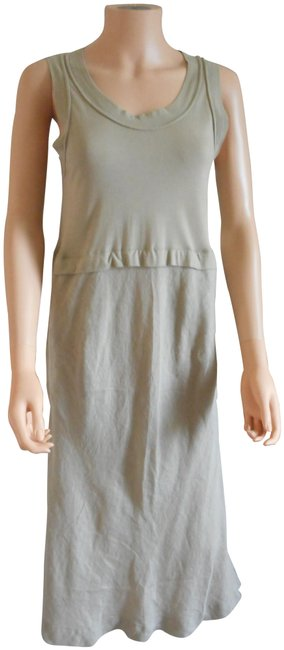Item - Taupe No Mid-length Short Casual Dress Size 8 (M)