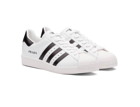 Preload https://img-static.tradesy.com/item/25725136/prada-white-black-superstar-leather-men-sneakers-size-eu-36-approx-us-6-regular-m-b-0-3-540-540.jpg