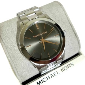 Michael Kors Slim Runway Stainless-Steel Watch MK8624