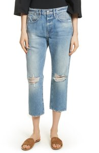 FRAME Relaxed Fit Jeans-Distressed