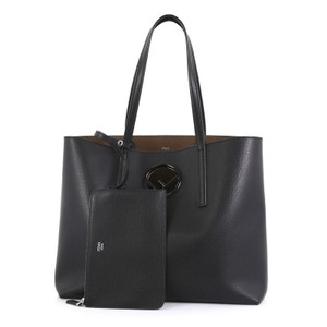 Fendi Logo Tote Shoulder Bag