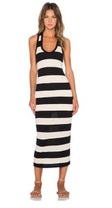 Black and Natural Maxi Dress by James Perse