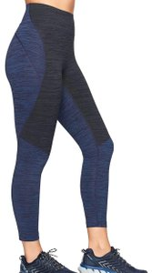 Outdoor Voices 3/4 two tone tech sweat cropped leggings