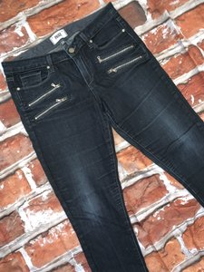 Paige Zippers Skinny Jeans