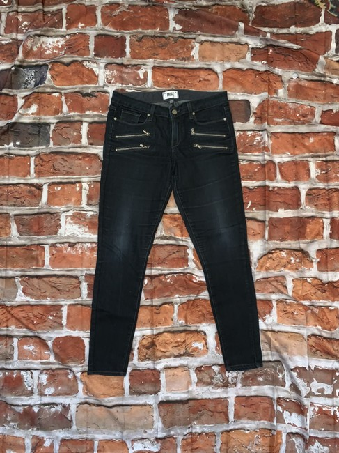 Paige Zippers Skinny Jeans Image 1