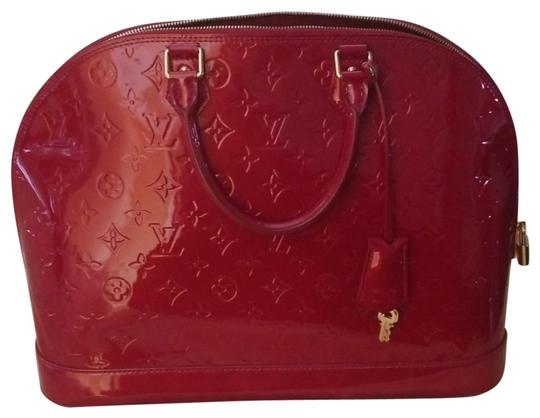 Preload https://img-static.tradesy.com/item/25726429/louis-vuitton-alma-red-patent-leather-tote-0-1-540-540.jpg