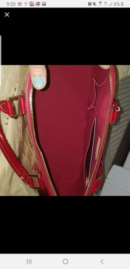 Louis Vuitton Tote in Red Image 1
