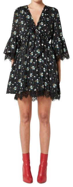 Preload https://img-static.tradesy.com/item/25726446/elliatt-black-floral-botanical-short-cocktail-dress-size-4-s-0-1-650-650.jpg