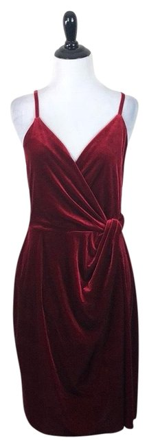 Preload https://img-static.tradesy.com/item/25726479/bailey-44-red-new-york-dolls-velvet-short-formal-dress-size-12-l-0-2-650-650.jpg