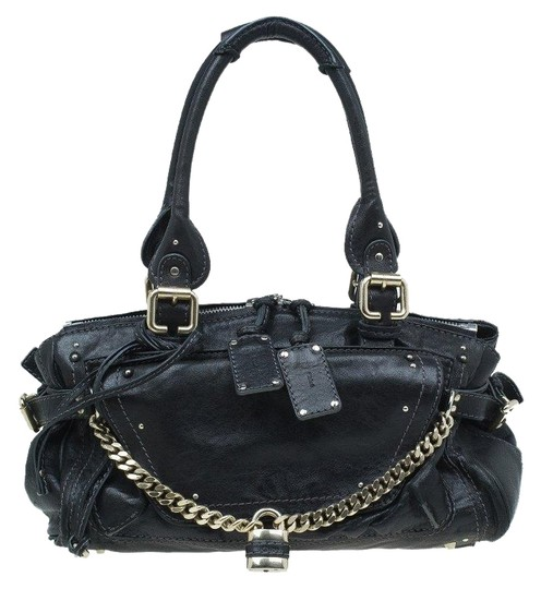 Preload https://img-static.tradesy.com/item/25726480/chloe-paddington-capsule-black-leather-satchel-0-1-540-540.jpg