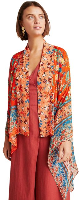 Preload https://img-static.tradesy.com/item/25726483/anthropologie-kimono-hayley-mixed-print-tunic-size-os-one-size-0-1-650-650.jpg