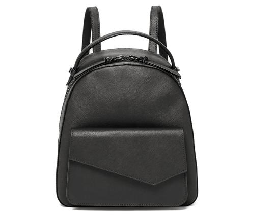 Botkier Saffiano Adjustable New Leather Backpack Image 4