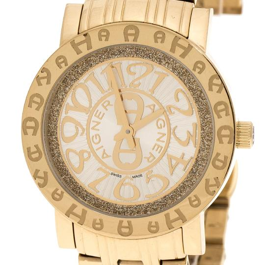 Etienne Aigner Champagne Gold Plated Stainless Steel A26337 Women's Wristwatch 36MM Image 2