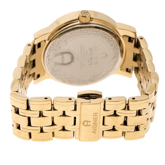 Etienne Aigner Champagne Gold Plated Stainless Steel A26337 Women's Wristwatch 36MM Image 3
