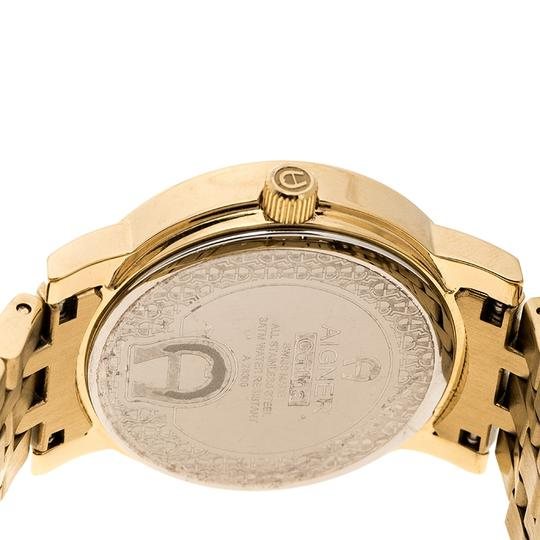Etienne Aigner Champagne Gold Plated Stainless Steel A26337 Women's Wristwatch 36MM Image 4