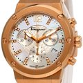 Salvatore Ferragamo Rose Gold Ion Plated Stainless Steel F-80 Women's Wristwatch 39MM Image 2